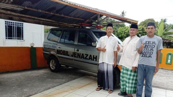 Akhirnya, Masjid Al Huda Kecamatan Singkep Lingga Punya Mobil Jenazah yang Baru