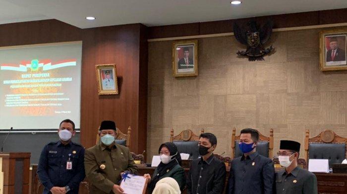 DPRD dan Pemkab Anambas Gelar Rapat Paripurna Penyampaian Tiga Ranperda