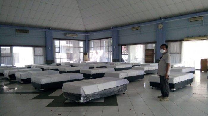 Kasus Aktif Turun, IGD Khusus Pasien Covid-19 di Asrama Haji Batam Tetap Stand By, Tersedia 30 Bed