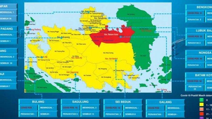Kecamatan Batam Kota Kembali Zona Merah Covid-19, Waspadai Gelombang Kedua Corona