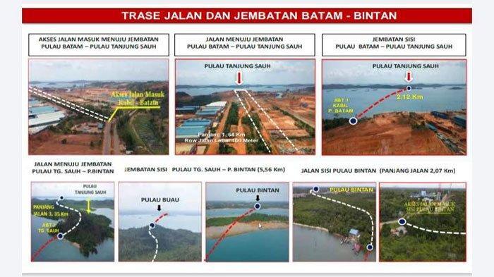 Investor Amerika dan Tiongkok Tertarik Investasi di Proyek Jembatan Batam Bintan