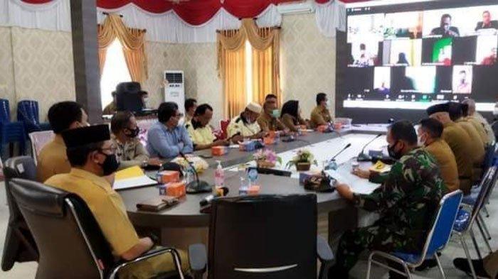 PPKM Level 3 dan Blocking Area Tak Ganggu Jadwal Pilkades di Lingga pada Agustus 2021