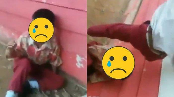 VIRAL VIDEO Anak SD Dihajar Habis-habisan oleh Kakak Kelasnya, Ini KRONOLOGI Kejadiannya