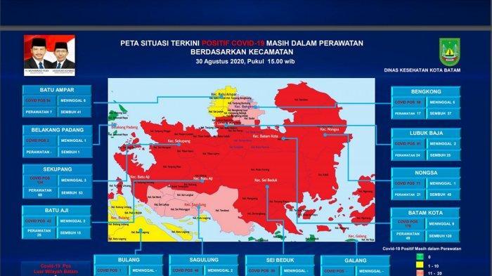 Warga Batam Jangan Lupakan Corona, Prokes Kendor Kasus Covid-19 Meningkat, 6 Kecamatan Zona Merah
