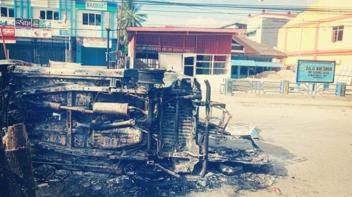 Tangisan Wali Kota Jayapura Melihat Anarkisme Massa Pendemo saat Rusuh Papua, 'Saya Menangis'