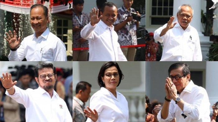 Calon Menteri Jokowi Kabinet Kerja Jilid II hingga Rabu Pagi, Ini 32 Nama yang Sudah Dipanggil