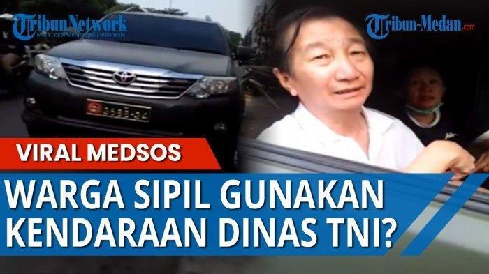 Siapa Sebenarnya Ahong? Sosoknya Viral setelah Terciduk Memakai Mobil Dinas TNI AD di Jalan Raya