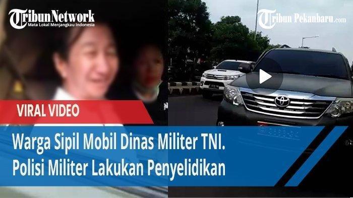 Inilah Sosok Ahong, Warga Sipil yang Kendarai Mobil Berpelat TNI & Ngaku-ngaku Anggota Aktif