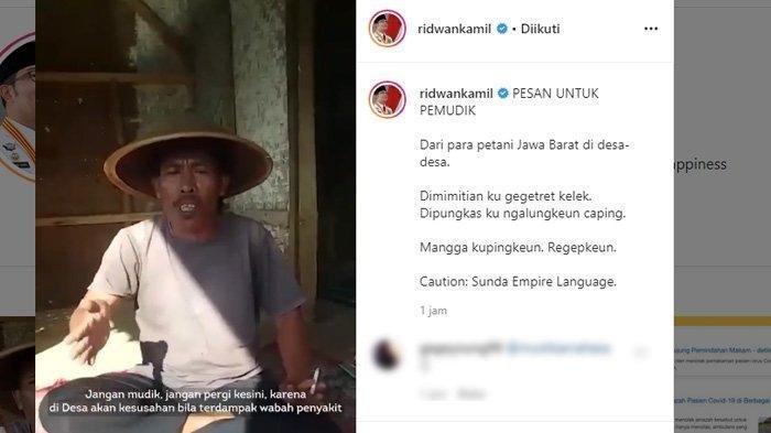Viral Pesan Menohok Seorang Petani untuk Warga Hendak Mudik saat Wabah Corona: Kasihanilah Kami