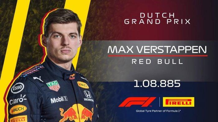 GP Belanda 2021 Live Fox Sport 19.00 WIB, Raih Pole Position Max Verstappen Lolos Hukuman Penalti