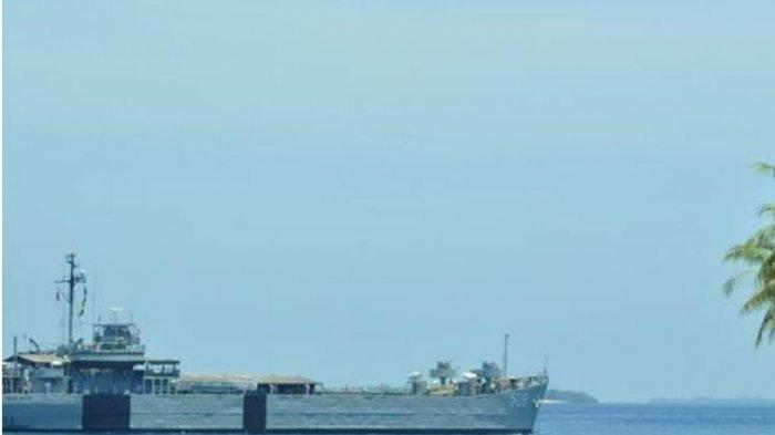 Corona Virus Called as the Invisible Enemy, 5 KRI Standby to Guard the Border Between Countries