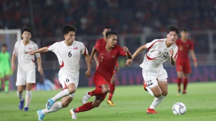 Timnas U-19 Indonesia Vs Korea Utara, Setelah Sempat tertinggal, Garuda Muda Samakan Kedudukan