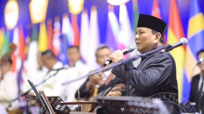 'Curhat' Prabowo di HUT Gerindra: Kita Siap Difitinah, Dikhianati, Dihujat, tapi Cinta Tanah Air