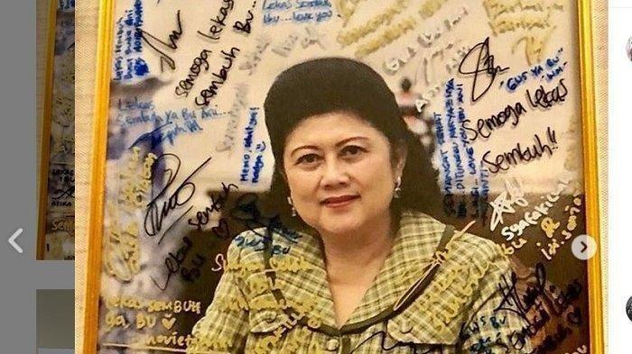 Akun Instagram Ibu Ani Yudhoyono Tiba-tiba Aktif dan Unggah Soal Ini, AHY Sampai Beri Komentar