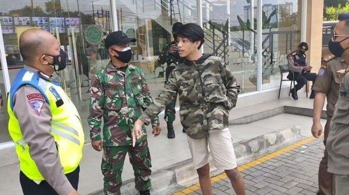 Mengungkap Sosok Sebenarnya Remaja Mengaku Keluarga Jenderal Saat Terjaring Razia Masker