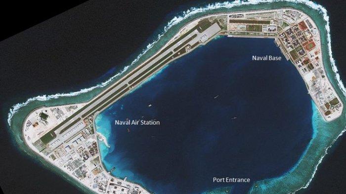 China Tunjukan Kekuasaan, Bangun 'Tembok Besar' untuk Pangkalan Militer di Laut China Selatan