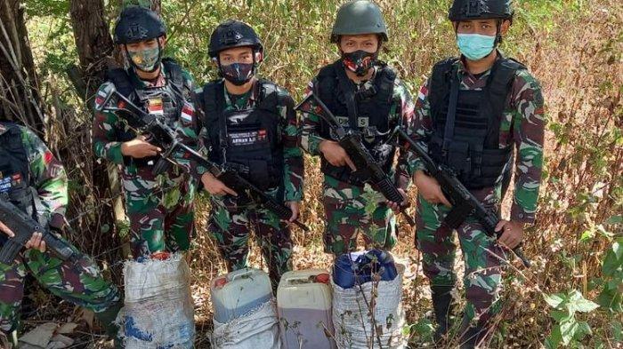 Ratusan Liter BBM Dari Indonesia Diselundupkan ke Luar Negeri Lewat Jalur Tikus