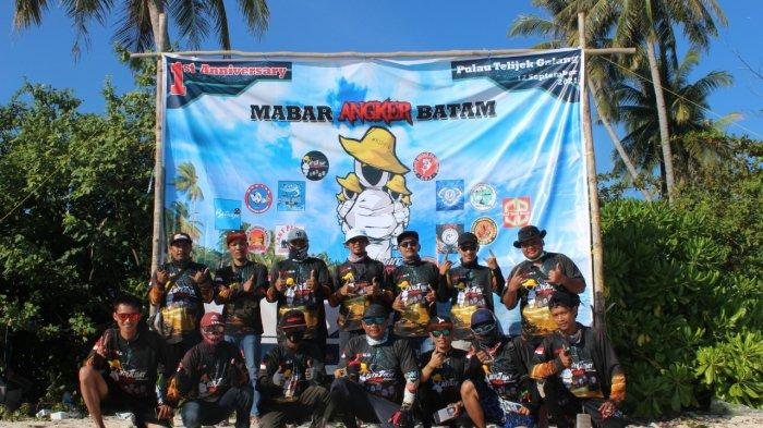 Pulau Telijek Jadi Pilihan Club Pancing Angker Batam Merayakan Anniversary