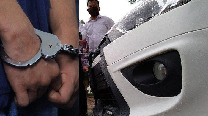 Awalnya Istri Senang Suami Bawa Mobil Pulang Kerumah, Ternyata Mobil Curian, Suami Diciduk Polisi