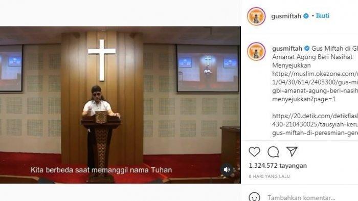 Reaksi Mengejutkan Habib Ahmad bin Novel soal Viral Ceramah Gus Miftah di Gereja