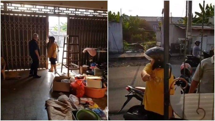Detik-detik Cewek Teriaki Bapaknya Sendiri Maling hingga Nyaris Diamuk Massa, Lihat Videonya