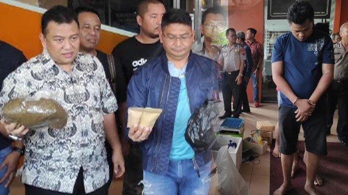 LAGI Artis dan Narkoba, Polisi Ciduk Personel Band J-Rock, Barang Bukti Ganja 1 Kg