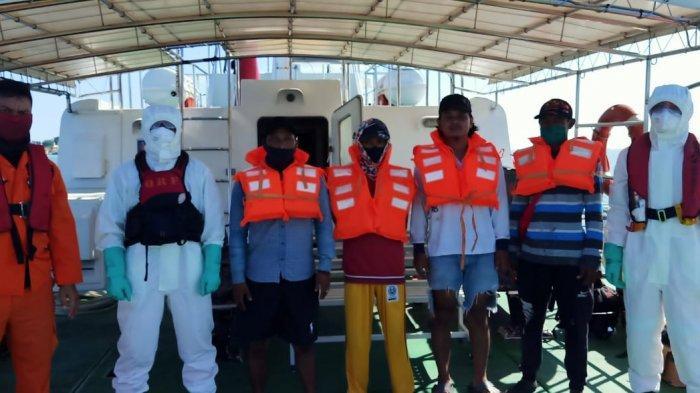 8 Pemancing yang Sempat Hilang di Tanjungpinang Berhasil Ditemukan Tim Sar