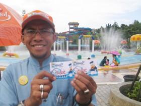 Khusus Pelajar, Masuk Areca Waterpark Tanjungpinang Cuma Rp 15 ribu