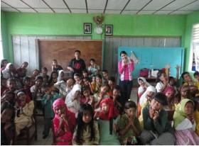 Cinderella From Indonesia Berkunjung ke Pulau Nguan Galang