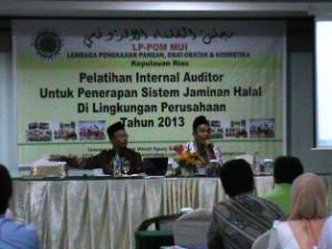 LPPOM MUI Gelar Pelatihan Sertifikasi Halal Yang Diikuti 35 Perusahaan