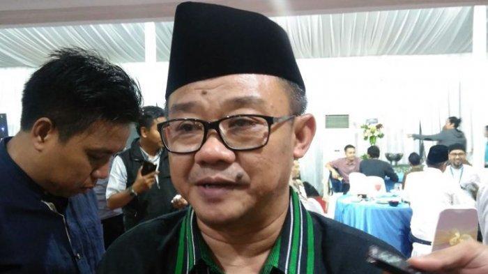 Sekretaris Jenderal Pengurus Pusat Muhammadiyah Abdul Muti ditemui di kediaman Menteri Pendidikan dan Kebudayaan (Mendikbud) Muhadjir Effendy, Jakarta, Selasa (20/6/2017)