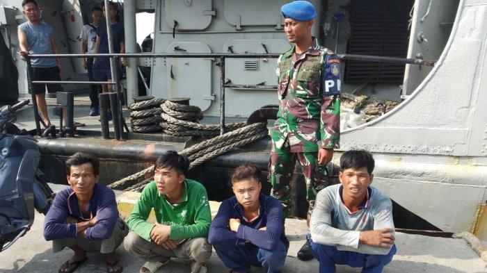 Lanal Tarempa Tangkap Nelayan Asing Asal Vietnam, Curi Ikan di Perairan Indonesia