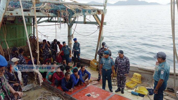 Diberi Peringatan, Kapal Ikan Vietnam Ini Malah Mau Nabrak KRI Teuku Umar 385