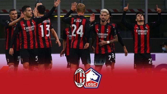 AC Milan akan berhadapan dengan Lille di matchday 3 Liga europa 2020/2021, Kamis (5/11/2020)