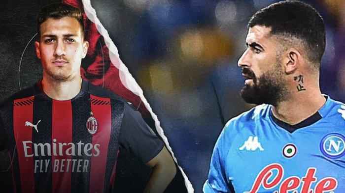 Transfer AC Milan, Tak Tertarik Permanenkan Diogo Dalot, AC Milan Bidik Bek Napoli Elseid Hysaj