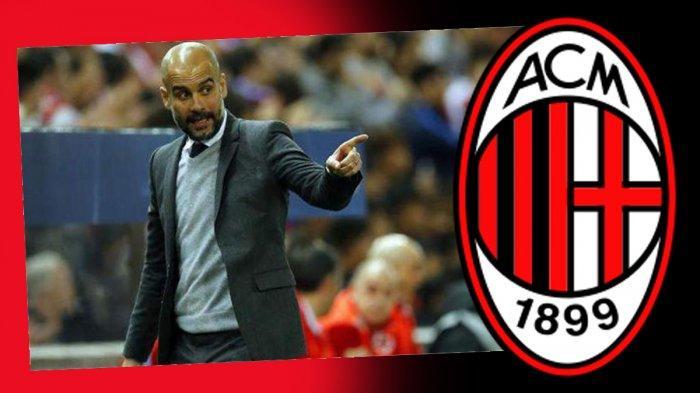 AC Milan Kontak Pep Guardiola Untuk Jadi Pelatih AC Milan di Masa Depan