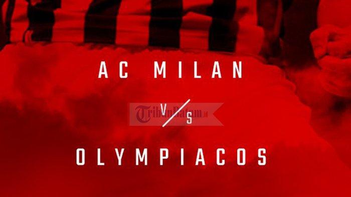 Hasil Liga Europa AC Milan vs Olympiacos - Gol Patrick Cutrone dan Gonzalo Higuain Menangkan Milan