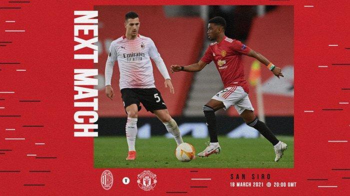 AC Milan vs Manchester United Live SCTV 03.00 WIB, Ibrahimovic Main, Cavani Absen, Keuntungan Milan?