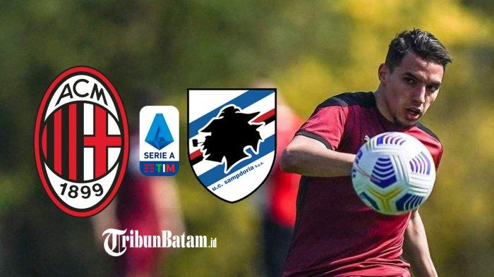 AC Milan vs Sampdoria Kick Off 17.30 WIB, Stefano Pioli Lakukan Rotasi, Ismael Bennacer Starter