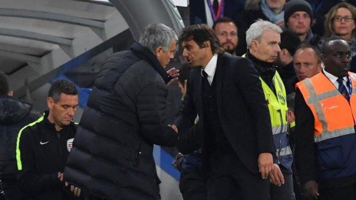 Terungkap! Inilah Pemicu Adu Mulut Conte dan Mourinho Murni, Benar-benar Mengejutkan!