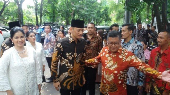 Presiden Jokowi Sambangi Kediaman Megawati untuk Halal Bihalal, AHY dan Ibas Turut Hadir