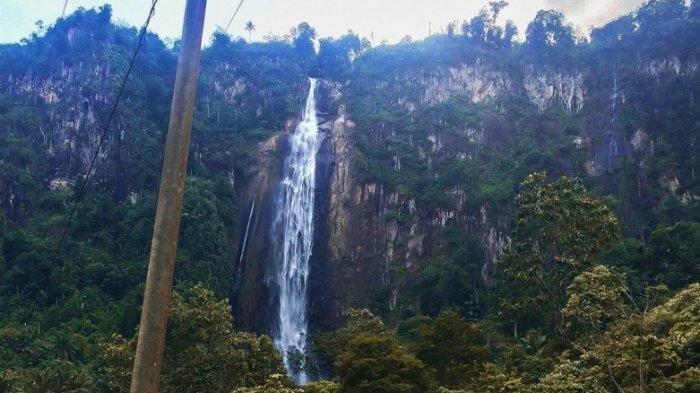 Air Terjun Sigura-gura di Tobasa Makin Kece, Menjadi Tempat Favorit Masyarakat pada Hari Libur