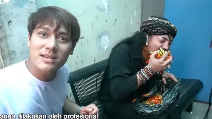 Reaksi Rizky Billar Lihat Master Limbad Makan 2 Kg Cabai, Sindir Soal Omongan Teman: Pedas