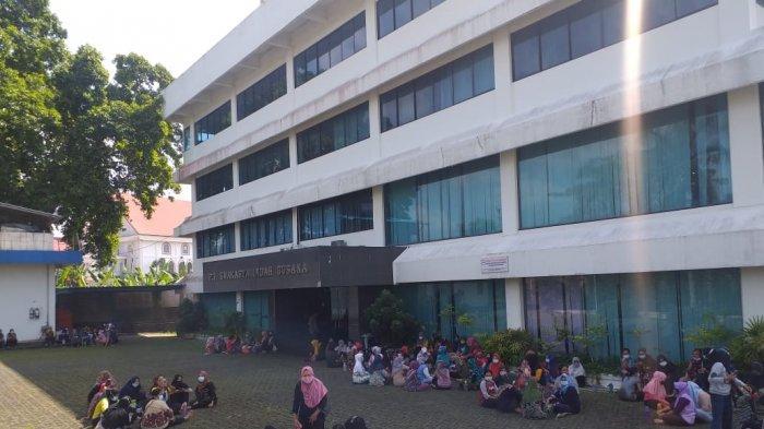 Buntut Mogok Kerja di PT Skawarya Indah Busana, Disnaker Tanjungpinang: Bayar Gaji Pekerja