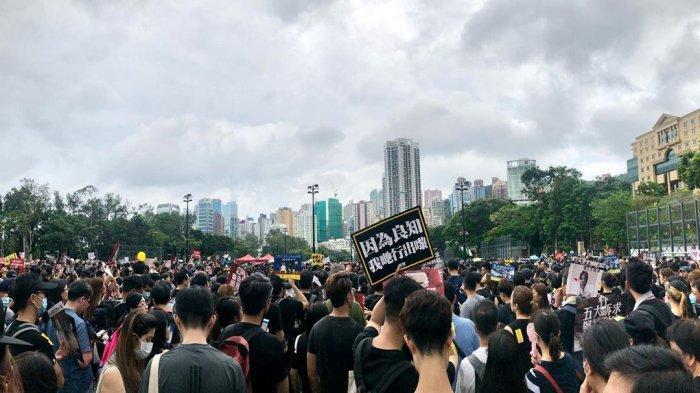 Taiwan Tawarkan Suaka Untuk Pengunjuk Rasa di Hong Kong, China Marah?