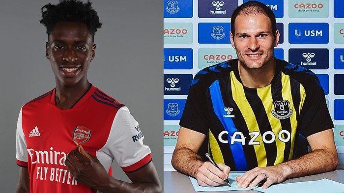 UPDATE Transfer Klub Liga Inggris 2021-2022: Arsenal Rekrut Sami Lokonga, Everton Bawa Asmir Begovic