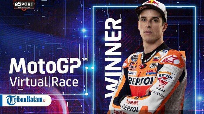 Hasil MotoGP Virtual GP Italia, Alex Marquez Juara, Vinales Asapi Quartararo dan Marc Marquez