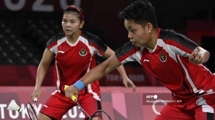 Jadwal Siaran Langsung Greysia/Apriyani di Final Badminton Olimpiade Tokyo 2020, Akses Disini