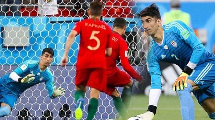 Kisah Alireza Beiranvand, Kiper Penepis Penalti Ronaldo itu Ternyata Dulunya Gelandangan