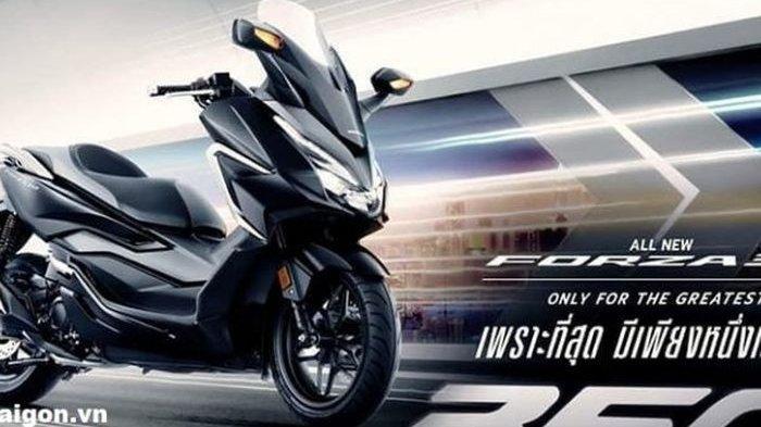 All New Honda Forza Resmi Meluncur di Thailand, Segini Harganya